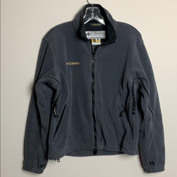 Columbia titanium fleece jacket women's si…